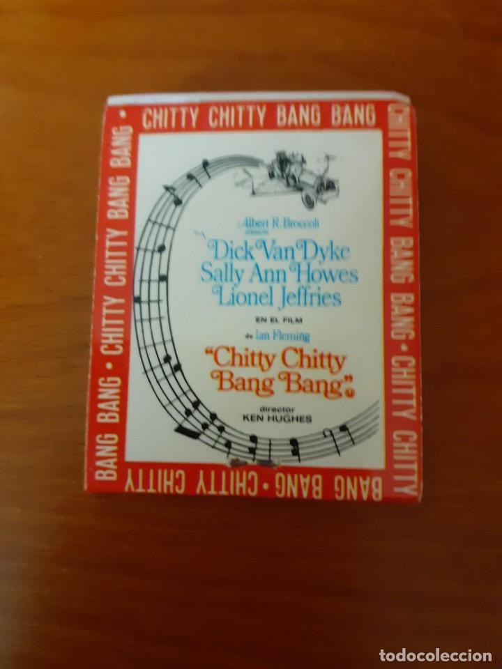Cajas de Cerillas: cajetilla de cerillas del estreno del film Chitty Chitty Bam Bam - Foto 3 - 232420420