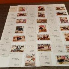 Cajas de Cerillas: COLECCION COMPLETA DE 20 CAJAS DE FOSFOROS SERIE ESTAMPAS TAURINAS. Lote 232795770