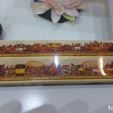 Cajas de Cerillas: CAJA DE CERILLAS DE A LONDON TRANSPORT OLD POSTER. Lote 233439715