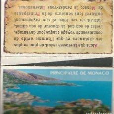 Cajas de Cerillas: CERILLAS MADERA PRINCIPADO DE MONACO REGIE MONEGASQUE DES TABACS. COMPLETA. Lote 233806630