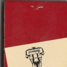 Cajas de Cerillas: CERILLAS HOTEL GRANJA BALMORAL (BARCELONA) COMPLETA. Lote 233815480