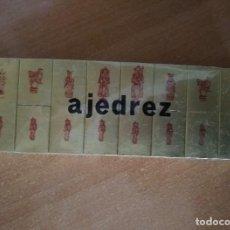 Cajas de Cerillas: 32 CAJAS DE CERILLAS *AJEDREZ* FOSFORERA ESPAÑOLA. Lote 234331300