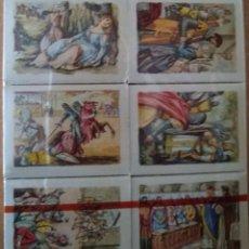 Cajas de Cerillas: 30 CAJAS DE CERILLAS - COLECCIÓN *EL CID* - FOSFORERA ESPAÑOLA. Lote 234338165