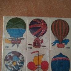Cajas de Cerillas: 12 CAJAS DE CERILLAS - COLECCIÓN *GLOBOS AEROSTÁTICOS* - FÓSFOROS DEL PIRINEO. Lote 234341615