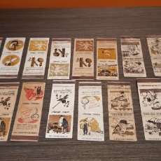 Boîtes d'Allumettes: LOTE DE 20 CAJAS DE CERILLAS PUBLICIDAD VARIADA. Lote 235072980