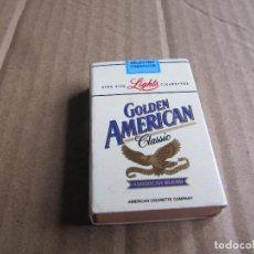 Cajas de Cerillas: CAJA DE CERILLAS CIGARRILLOS GOLDEN AMERICAN. Lote 238286855