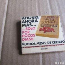 Cajas de Cerillas: MUEBLES NIZA. Lote 238325890