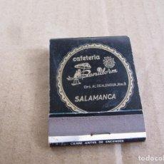 Cajas de Cerillas: CAFETERIA BENIDORM SALAMANCA. Lote 238504630