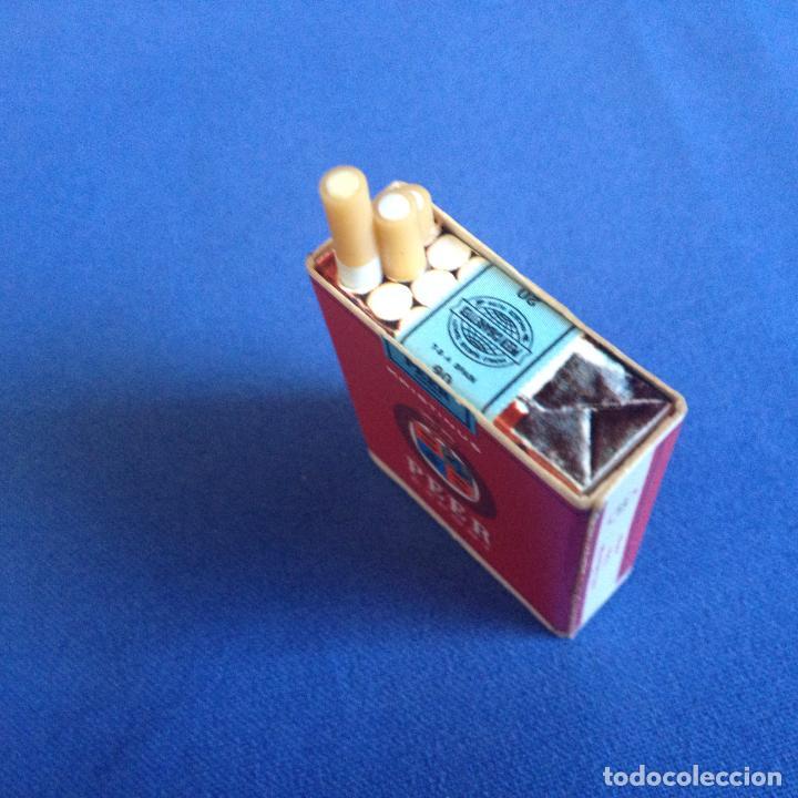 PEQUEÑA CAJA DE CERILLAS EN PAPEL - VER FOTOS (Coleccionismo - Objetos para Fumar - Cajas de Cerillas)