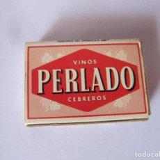 Cajas de Cerillas: CERILLAS VINOS PERLADO. CEBREROS. Lote 239910855