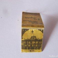 Cajas de Cerillas: RESTAURANTE CAFETERIA COLMADOEL ZAGUAN ,SALAMANCA. Lote 239915045
