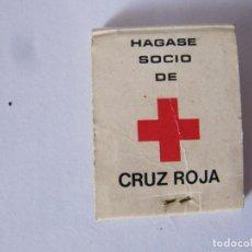 Cajas de Cerillas: CRUZ ROJA ESPAÑOLA ASAMBLEA PROVINCIAL SALAMANCA. Lote 239916830