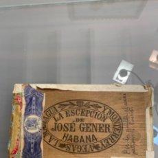 Cajas de Cerillas: CAJA DE PUROS. Lote 243906660