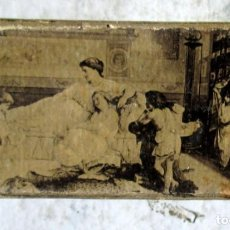 Boîtes d'Allumettes: CAJA DE SERENO CON VELITAS(3)- 8 X 4X1 CM. Lote 243958045