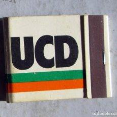 Cajas de Cerillas: SOBRE DE PROPAGANDA DE UCD. Lote 243962865