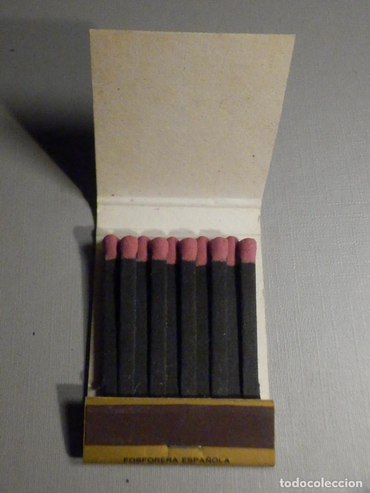 Cajas de Cerillas: Carterita cerillas - 20 fósforos - Botones de alta moda Reneé - Sevilla - Completa - Foto 3 - 245383760