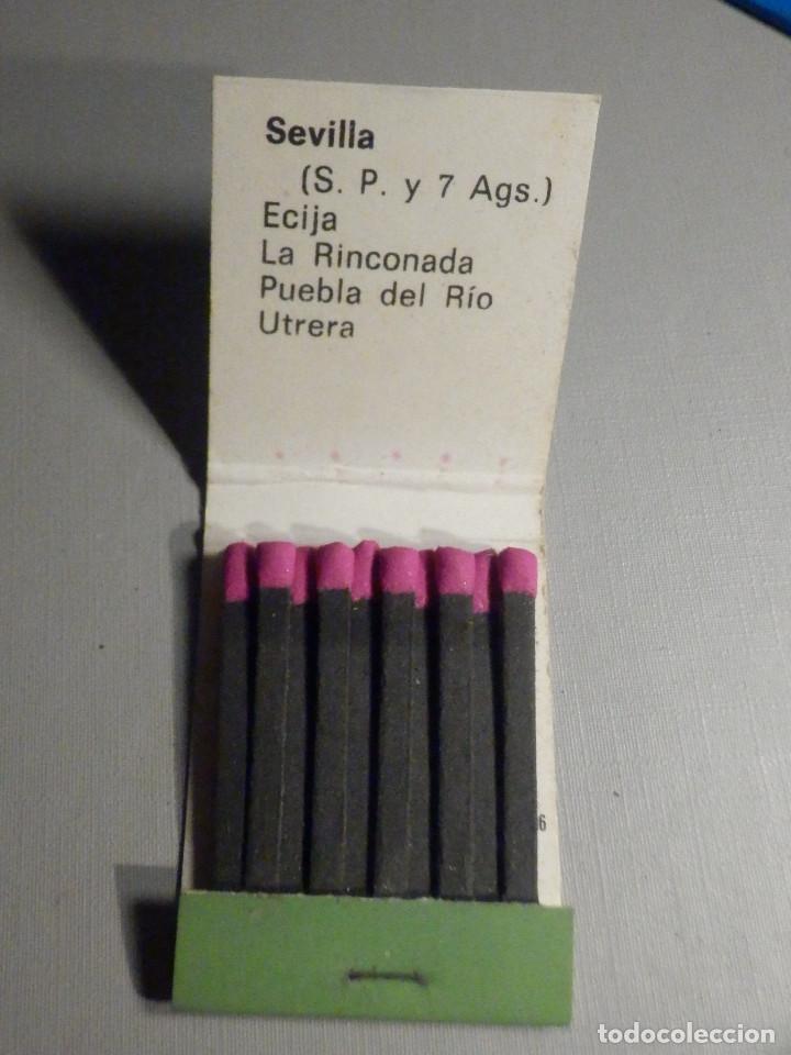 Cajas de Cerillas: Carterita cerillas - 20 fósforos - Banco de Santander - Sevilla - Completa - Foto 2 - 245383975