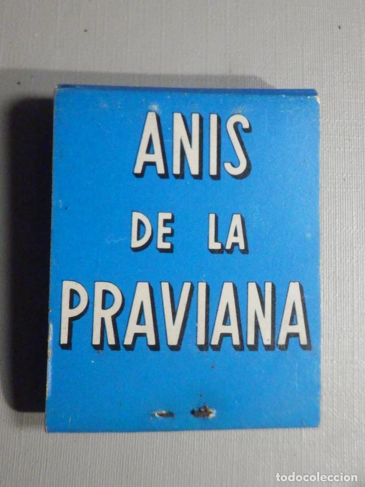 Cajas de Cerillas: Carterita cerillas - 20 fósforos - Anis de la Praviana - Completa - Foto 2 - 245384330