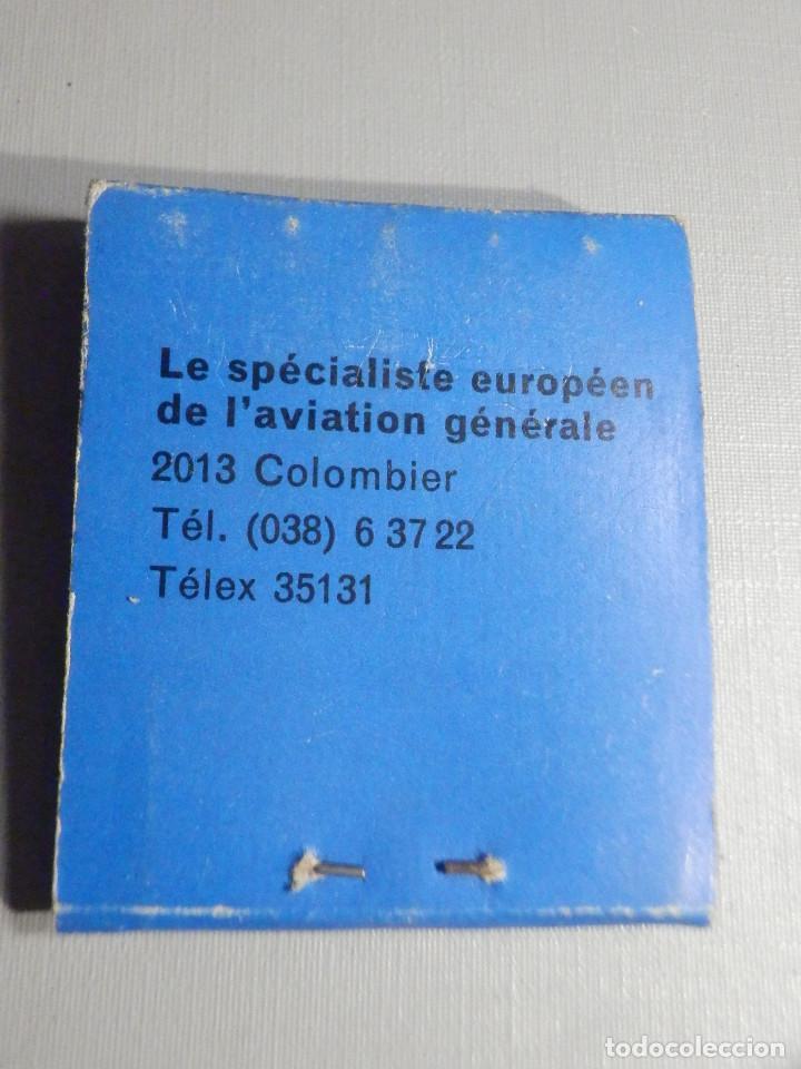 Cajas de Cerillas: Carterita cerillas - 20 fósforos - Lineas Aereas Transair, s.a. - Completa - Foto 3 - 245389140
