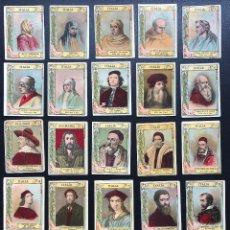 Cajas de Cerillas: FOTOTIPIAS SERIE 20 GRANDES PINTORES. Lote 246268655