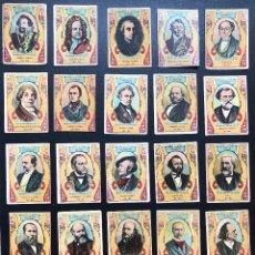 Cajas de Cerillas: FOTOTIPIAS SERIE º 28 MÚSICOS CONTEMPORANEOS. Lote 246269090