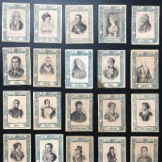 Cajas de Cerillas: FOTOTIPIAS SERIE 31 CONMEMORATIVA AL CENTENARIO DE LOS SITIOS. Lote 246269680
