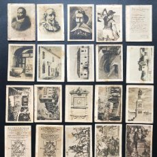 Cajas de Cerillas: FOTOTIPIAS SERIE ESPECIAL DON QUIJOTE. Lote 246271280