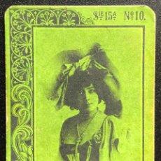 Cajas de Cerillas: FOTOTIPIA SERIE 15 VERDE Nº.10. Lote 246277480