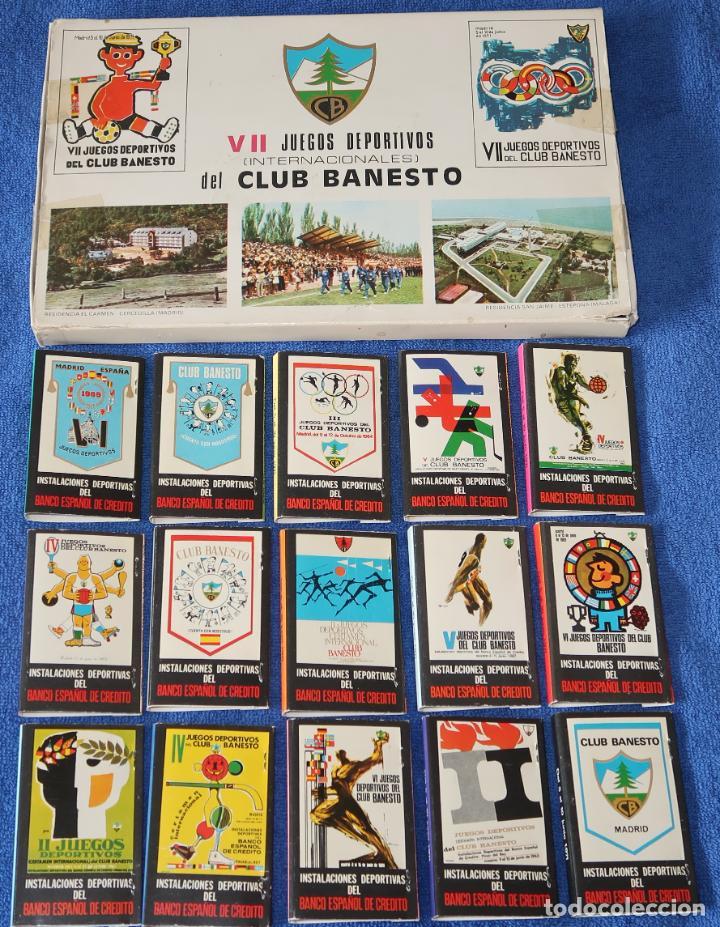 Cajas de Cerillas: Club Banesto - Fosforera Española - Foto 2 - 27554528
