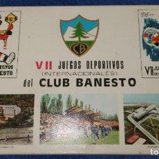 Cajas de Cerillas: CLUB BANESTO - FOSFORERA ESPAÑOLA. Lote 27554528