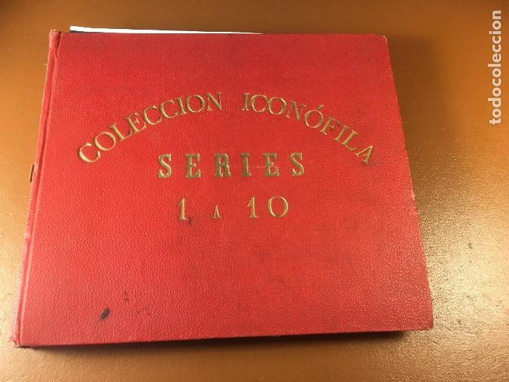 Cajas de Cerillas: COLECCION ICONOFILA. SERIE 1ª A 20ª COMPLETA. CERILLAS FOTOTIPIAS .FOTOS TODAS LAS PAG. - Foto 2 - 246869150