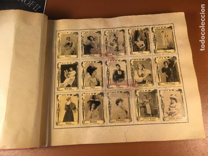 Cajas de Cerillas: COLECCION ICONOFILA. SERIE 1ª A 20ª COMPLETA. CERILLAS FOTOTIPIAS .FOTOS TODAS LAS PAG. - Foto 12 - 246869150