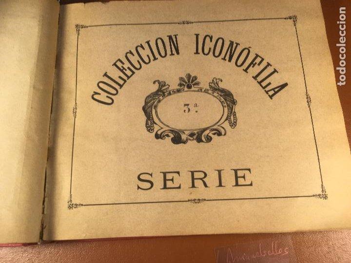 Cajas de Cerillas: COLECCION ICONOFILA. SERIE 1ª A 20ª COMPLETA. CERILLAS FOTOTIPIAS .FOTOS TODAS LAS PAG. - Foto 16 - 246869150