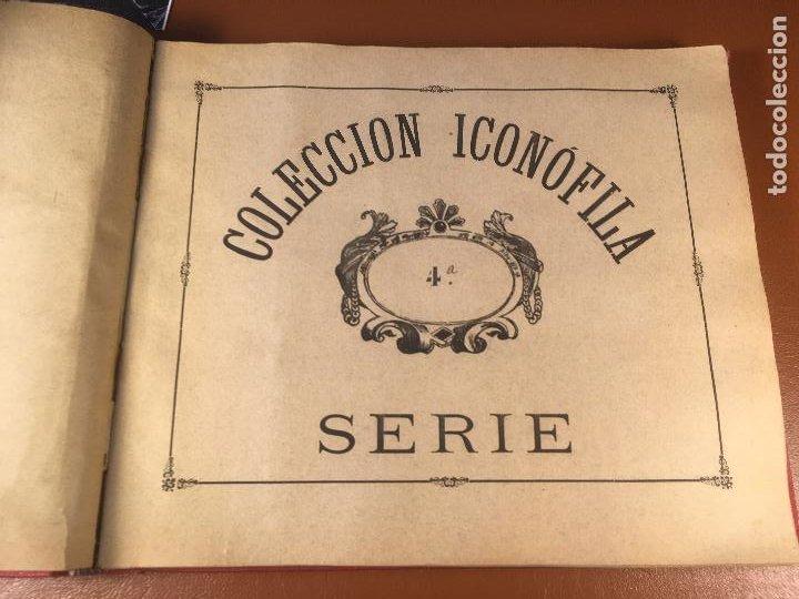 Cajas de Cerillas: COLECCION ICONOFILA. SERIE 1ª A 20ª COMPLETA. CERILLAS FOTOTIPIAS .FOTOS TODAS LAS PAG. - Foto 22 - 246869150
