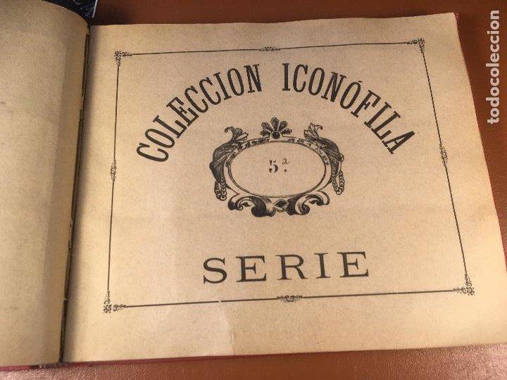 Cajas de Cerillas: COLECCION ICONOFILA. SERIE 1ª A 20ª COMPLETA. CERILLAS FOTOTIPIAS .FOTOS TODAS LAS PAG. - Foto 28 - 246869150