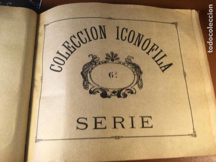 Cajas de Cerillas: COLECCION ICONOFILA. SERIE 1ª A 20ª COMPLETA. CERILLAS FOTOTIPIAS .FOTOS TODAS LAS PAG. - Foto 33 - 246869150