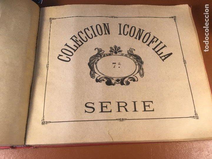Cajas de Cerillas: COLECCION ICONOFILA. SERIE 1ª A 20ª COMPLETA. CERILLAS FOTOTIPIAS .FOTOS TODAS LAS PAG. - Foto 39 - 246869150
