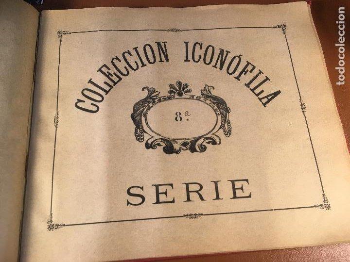Cajas de Cerillas: COLECCION ICONOFILA. SERIE 1ª A 20ª COMPLETA. CERILLAS FOTOTIPIAS .FOTOS TODAS LAS PAG. - Foto 45 - 246869150