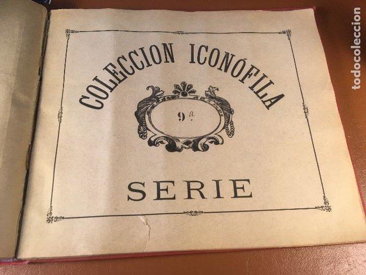 Cajas de Cerillas: COLECCION ICONOFILA. SERIE 1ª A 20ª COMPLETA. CERILLAS FOTOTIPIAS .FOTOS TODAS LAS PAG. - Foto 51 - 246869150