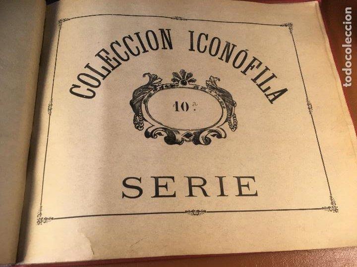 Cajas de Cerillas: COLECCION ICONOFILA. SERIE 1ª A 20ª COMPLETA. CERILLAS FOTOTIPIAS .FOTOS TODAS LAS PAG. - Foto 57 - 246869150