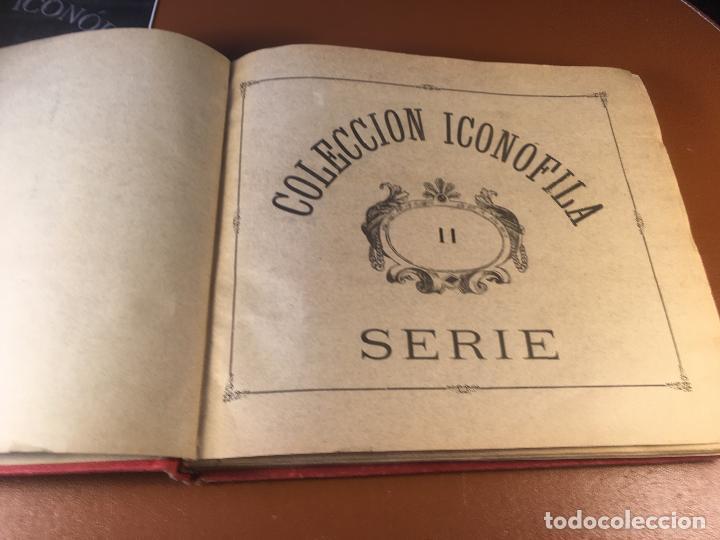 Cajas de Cerillas: COLECCION ICONOFILA. SERIE 1ª A 20ª COMPLETA. CERILLAS FOTOTIPIAS .FOTOS TODAS LAS PAG. - Foto 68 - 246869150
