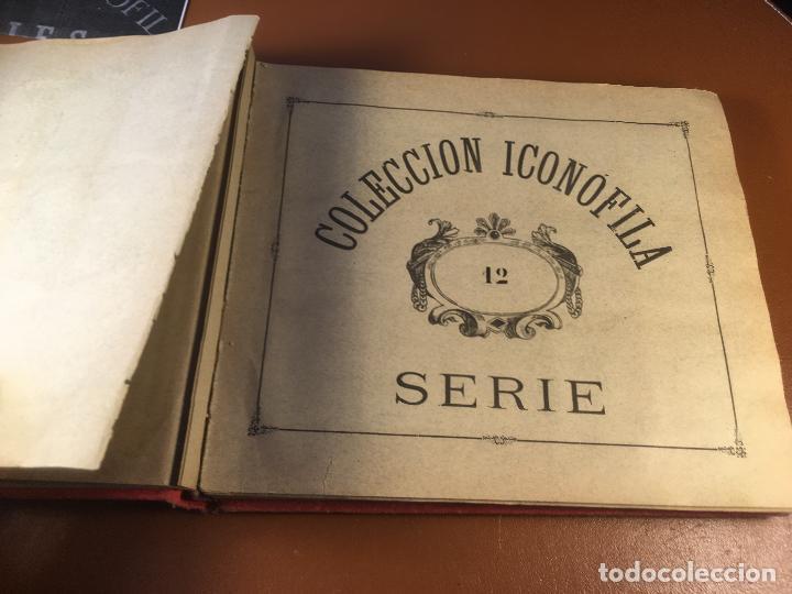 Cajas de Cerillas: COLECCION ICONOFILA. SERIE 1ª A 20ª COMPLETA. CERILLAS FOTOTIPIAS .FOTOS TODAS LAS PAG. - Foto 74 - 246869150