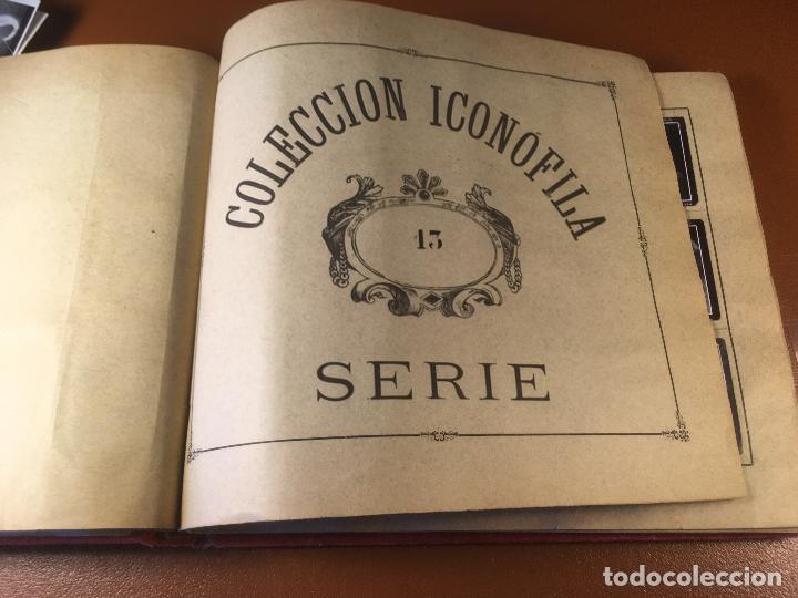 Cajas de Cerillas: COLECCION ICONOFILA. SERIE 1ª A 20ª COMPLETA. CERILLAS FOTOTIPIAS .FOTOS TODAS LAS PAG. - Foto 80 - 246869150