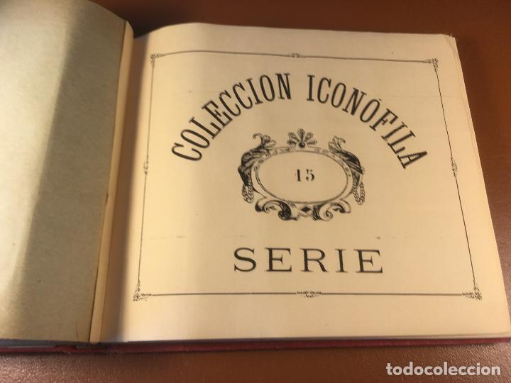 Cajas de Cerillas: COLECCION ICONOFILA. SERIE 1ª A 20ª COMPLETA. CERILLAS FOTOTIPIAS .FOTOS TODAS LAS PAG. - Foto 92 - 246869150