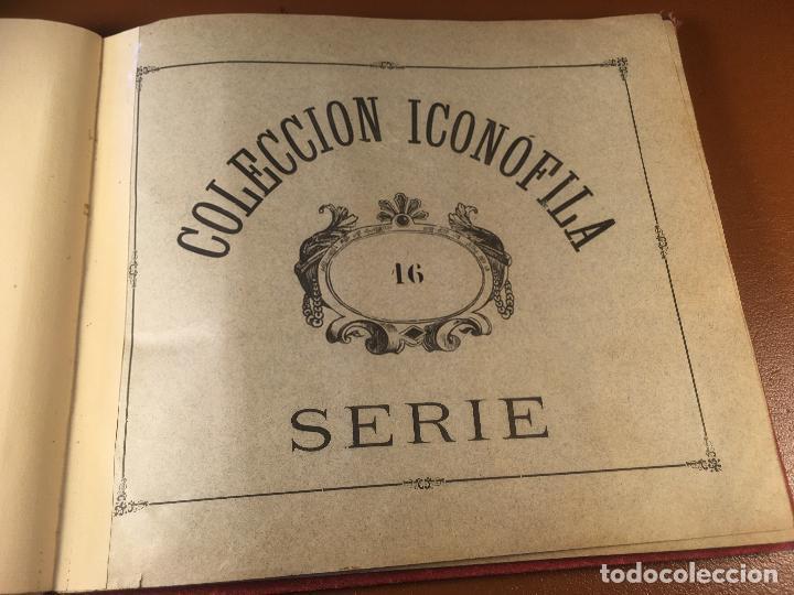 Cajas de Cerillas: COLECCION ICONOFILA. SERIE 1ª A 20ª COMPLETA. CERILLAS FOTOTIPIAS .FOTOS TODAS LAS PAG. - Foto 98 - 246869150