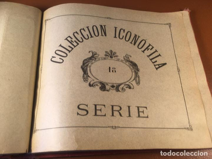Cajas de Cerillas: COLECCION ICONOFILA. SERIE 1ª A 20ª COMPLETA. CERILLAS FOTOTIPIAS .FOTOS TODAS LAS PAG. - Foto 110 - 246869150