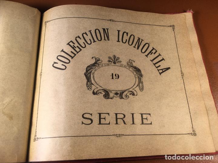 Cajas de Cerillas: COLECCION ICONOFILA. SERIE 1ª A 20ª COMPLETA. CERILLAS FOTOTIPIAS .FOTOS TODAS LAS PAG. - Foto 116 - 246869150