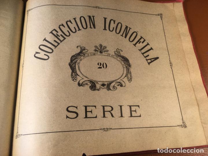 Cajas de Cerillas: COLECCION ICONOFILA. SERIE 1ª A 20ª COMPLETA. CERILLAS FOTOTIPIAS .FOTOS TODAS LAS PAG. - Foto 122 - 246869150