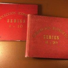 Cajas de Cerillas: COLECCION ICONOFILA. SERIE 1ª A 20ª COMPLETA. CERILLAS FOTOTIPIAS .FOTOS TODAS LAS PAG.. Lote 246869150