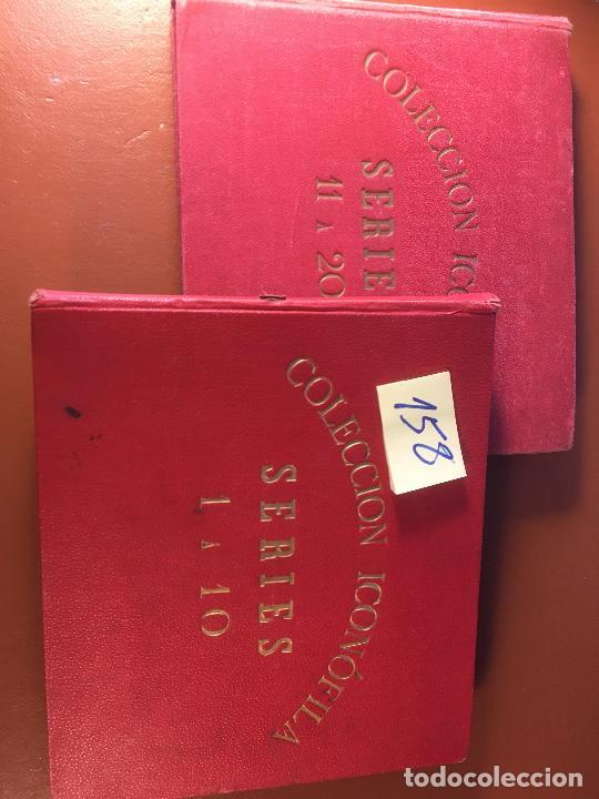 Cajas de Cerillas: COLECCION ICONOFILA. SERIE 1ª A 20ª COMPLETA. CERILLAS FOTOTIPIAS .FOTOS TODAS LAS PAG. - Foto 131 - 246869150